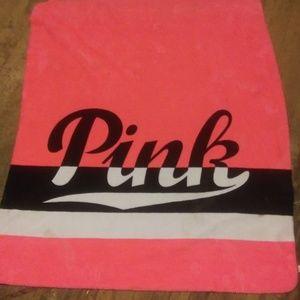 Pink Victoria secrets blankets